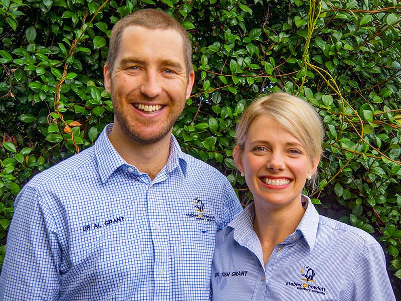 Drs Alistair & Letitia Grant